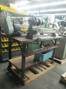 Elgin Metal Cutting Bench Model Lathe 9 X 17 With 3 jaw Chuck