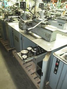 Hardinge Precision Model Vbs Secondary Operation Turret Lathe Well Equipped