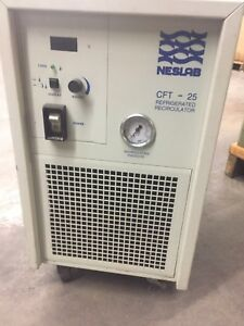 Neslab Coolflow Recirculating Chiller Cft 25 Series Air cooled Refrigeration