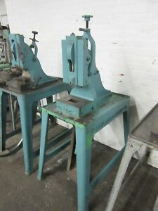 Ruesch 7 Heavy Duty Foot Stamping Kick Press 7 Ton Capacity jewelry More