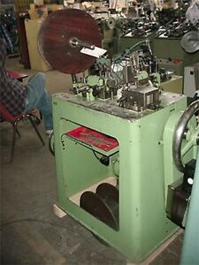 Theodore Bechtold Large Curb Chain Making Machine