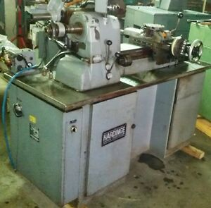 Hardinge Model Hc Super Precision Lathe With Threading Attachment Nice