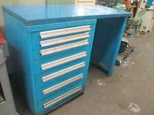 Lyon Mss11 7 drawer Safety Link Heavy Duty Parts Cabinet
