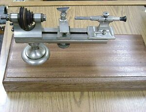 American Watch Tool Co Boley Type Watchmaker s Jeweler s Lathe Pristine