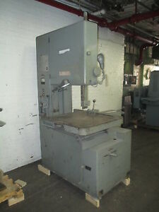 Grob 24 Vertical Metal Cutting Bandsaw Model S 24 u With Blade Welder