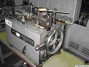 Theodore Bechtold germany Curb Chain Making Machine 1967