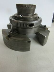 Rare Engine Turning Ornamental Lathe Guillochet Chuck Watch Makers Jewelers
