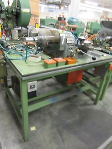 Hardinge Super Precision Speed Lathe Model Hsl 59 new 1991