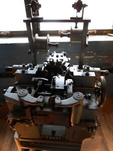 Fasti Long Short Curb Chain Making Machine Model Gf Excellent Condition