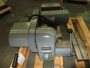 Hardinge Bench Model Super Precision Speed Lathe Model Hsl 59 Excellent