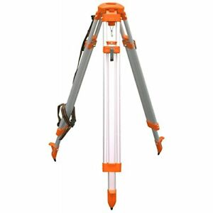 Cst berger 60 alqci40 Contractor s Aluminum Tripod 5 8 by 11 Dome Head Orange