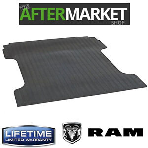 New Heavy Duty Rubber Bed Mat 2003 2018 Ram 2500 3500 8 Bed Lifetime Warranty