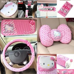 Pink Hello Kitty Car Styling Car Seat Interior Accessories Hello Kitty New Best