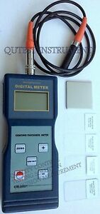Digital Coating Thickness Gauge Meter Nf On Magnetic F Type W Calibration Foil