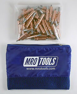 50 1 8 Cleco Sheet Metal Fasteners W Mesh Carry Bag k2s50 1 8