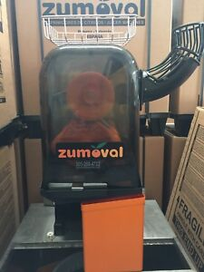 Commercial Citrus Juicer Zumoval Minimax Used 2 Year Guarantee