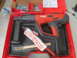Hilti Dx 460 Power Actuated Nail Gun Fastener Nail Gun Case Dx460 F 10 Kit