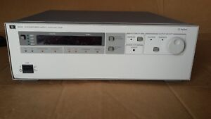 Hp Agilent 6032a Autoranging Variable 0 60v 0 50a 1000w Dc System Power Supply