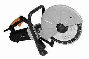 Concrete Saw Tool Cut Stone Paving Brick Blocks Electric Disc Cutter 12 inch New