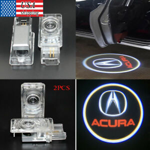 2pcs Led Logo Light Ghost Shadow Projector Car Door Courtesy Laser For Acura