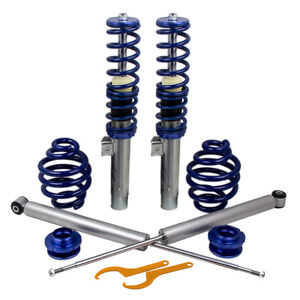 Coilovers Coilover Kit For Bmw E46 320 323 325 328 330 335 Coupe And Sedan Blue
