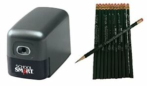 Heavy Duty Electric Pencil Sharpener With 12 pack Teachingmart Pencils
