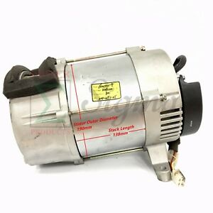 Tapered Alternator Rated 5000 Watt Brushless Diesel Silent Generator W capacitor