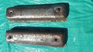 Oem 1957 Ford Y Block Engine Valve Cover Pair Core