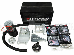 K tuned Water Plate Complete Kit W electric Pump For K series K20 K24 K swap