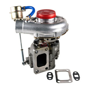 T04e T3 T4 63 Turbo Turbocharger Compressor 300 Hp W Internal Wastegate V Band