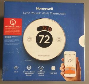 Honeywell Lyric Round Wi fi Thermostat Th8732wfh5002 Pro Install