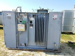 Square D Substation Transformer 750 Kva Pri 12470 Sec 480y 277 Volt Three Phase