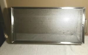 Commercial Stainless Steel Restaurant Drip steam Tray With Handles 20x10
