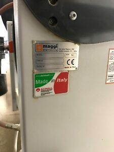 Maggi System 46 Vertical Spindle Line Boring Machine 32mm