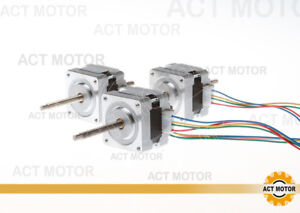 3axis Nema16 Linear Stepper Motor 30ohm 12v 0 01step 100mm Stroke Ce