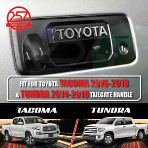 2 Sets Toyota Tacoma Tundra Tailgate Handle Letters Logo Decals Vinyl Stickers