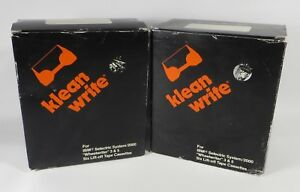 2 Boxes Klean Write Lift Off Tape Cassette C 16 Ibm Selectric 2000 Wheelwriter