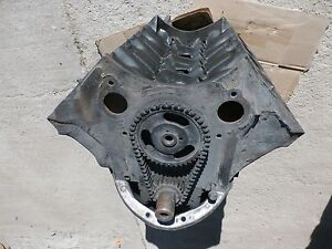 Cal 1967 Pontiac 326 Engine Short Block Tempest Firebird 9786339 L 22 6 Lemans