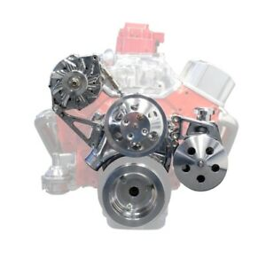Tsp Ds35012 Small Block Chevy V belt Front Drive System Alternator Power Steer