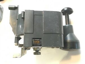 Faema Mpn Commerical Espresso Machine Grinder Part Doser Assembly And Tamper