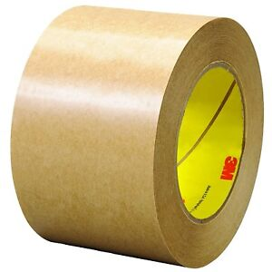 465 Adhesive Transfer Tape 3 In X 60 Yd Clear pack Of 12