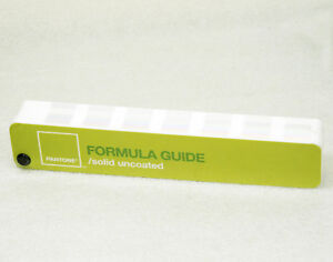 Pantone Formula Guide Solid Uncoated Large Edition With Special Features Mh