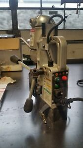 Jancy Slugger Magnetic Drill Press Mag Drill Jm 101 With Extras