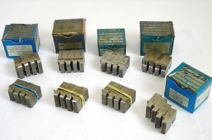 8 Geometric Chaser Die Sets For 1 2 7 16 3 8 1 4 Threads Trw Possibly Others