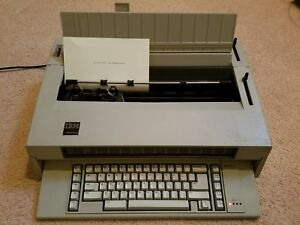 Ibm Wheelwriter 3 Typewriter Type 674x Tested And Works Great Condition