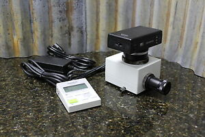 Olympus Pm10sp Microscope Camera System Controller Pm c35dx Camera Free S h