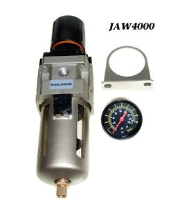 1 2 Npt Compressed Air Filter Pressure Regulator Combo For Air Compressor