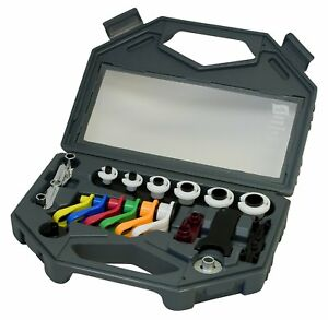 Ac Fuel Lines Master Disconnect Set 8pc Set Air Conditioning Auto Tool W Case
