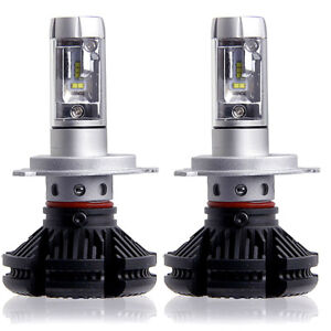 2x H7 100w 12000lm Led Car Headlights Kits Beam Bulbs Turbo Super White 6500k