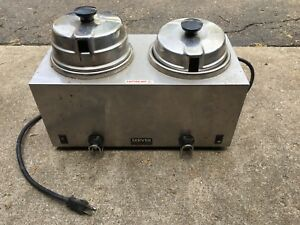 Server Double Warmer Restaurant Commercial Soup Food Truck Hot Working